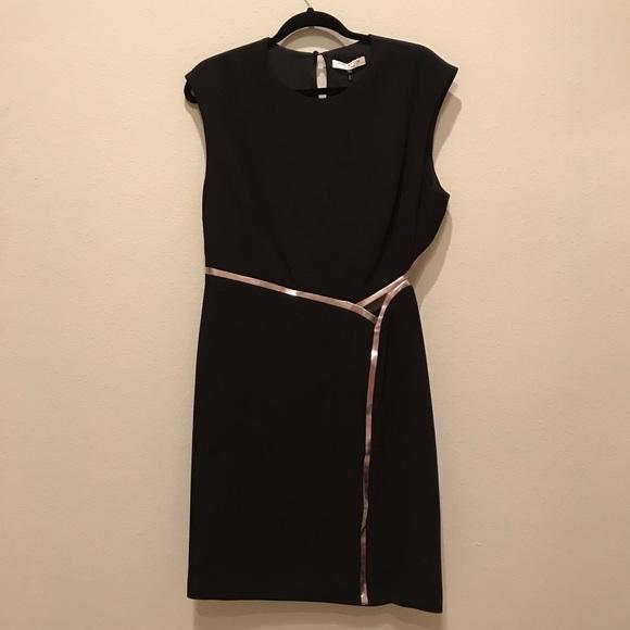 5c8351c27f16 Halston Heritage Dresses | Black Cut Out Shift Dress | Poshmark